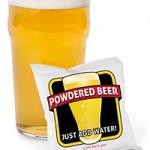 Powdered Beer