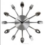 Kitchen Cutlery Clock