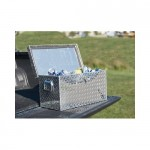 Aluminum Diamond Plate Ice Chest/Cooler