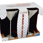 Diamond Tech Martini Glasses
