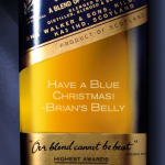 Have a Blue Chrismas with Engraved Johnnie Walker