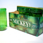 Recycled Beer Bottle Glasses: Functional Trash
