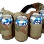 Redneck Camouflage 6-Pack Beer Holster