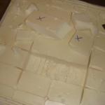 Foam removed