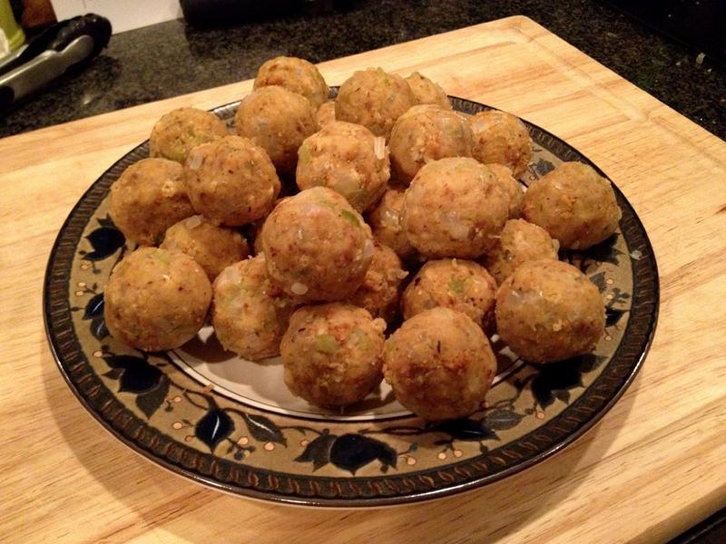 Brian S Belly Deep Fried Cajun Stuffing Balls