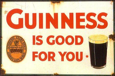 vintage Guinness poster, Guinness, old beer poster